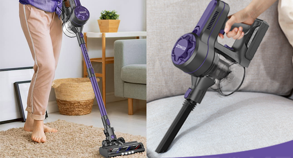 This powerful cordless vacuum is more than 50% off right now on Amazon. Images via Amazon.