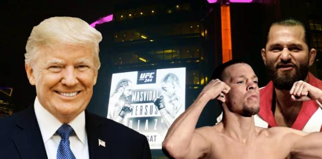 Donald Trump and UFC 244 MSG