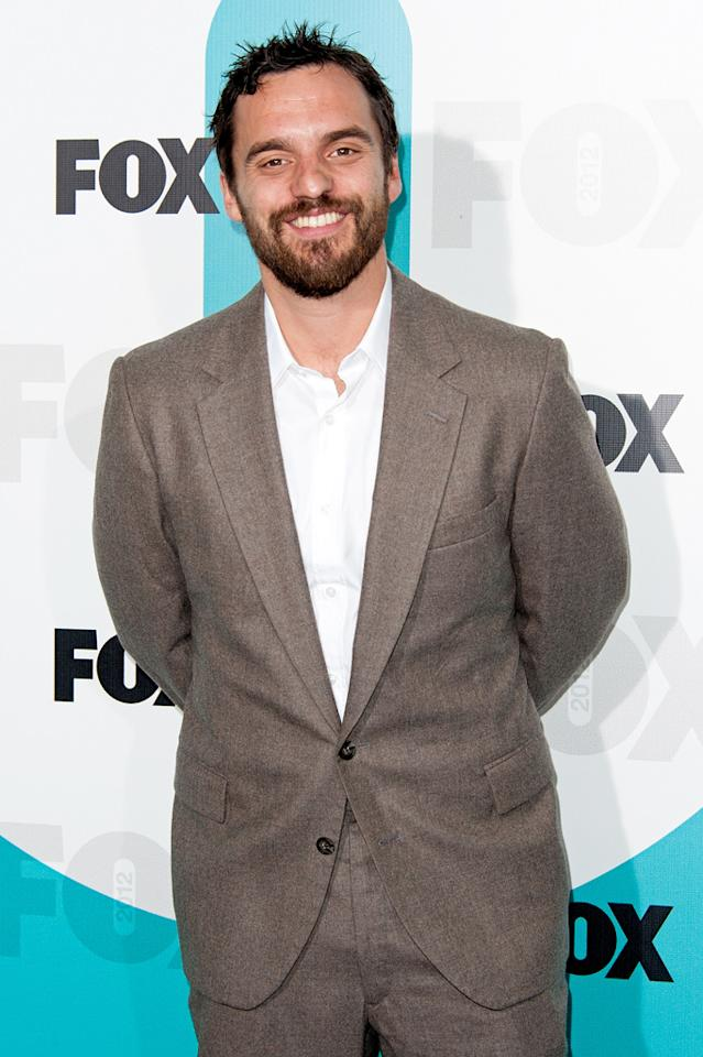 "Jake Johnson (""New Girl"") attends the Fox 2012 Upfronts Post-Show Party on May 14, 2012 in New York City."