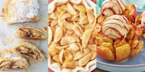"""<p>Need to use up some <a href=""""https://www.delish.com/uk/cooking/recipes/g33121915/apple-recipes/"""" rel=""""nofollow noopener"""" target=""""_blank"""" data-ylk=""""slk:apples"""" class=""""link rapid-noclick-resp"""">apples</a>? We've got covered with everything from <a href=""""https://www.delish.com/uk/cooking/recipes/a29220792/apple-crumble/"""" rel=""""nofollow noopener"""" target=""""_blank"""" data-ylk=""""slk:Hob Nob Apple Crumble"""" class=""""link rapid-noclick-resp"""">Hob Nob Apple Crumble</a> (a-huh, we did that), to <a href=""""https://www.delish.com/uk/cooking/recipes/a32681680/apple-cinnamon-bread-recipe/"""" rel=""""nofollow noopener"""" target=""""_blank"""" data-ylk=""""slk:Apple Cinnamon Bread"""" class=""""link rapid-noclick-resp"""">Apple Cinnamon Bread</a>, and <a href=""""https://www.delish.com/uk/cooking/a32807624/bloomin-apples-recipe/"""" rel=""""nofollow noopener"""" target=""""_blank"""" data-ylk=""""slk:Bloomin' Apples"""" class=""""link rapid-noclick-resp"""">Bloomin' Apples</a> to <a href=""""https://www.delish.com/uk/cooking/recipes/a34709882/easy-apple-strudel-recipe/"""" rel=""""nofollow noopener"""" target=""""_blank"""" data-ylk=""""slk:Apple Strudel"""" class=""""link rapid-noclick-resp"""">Apple Strudel</a> (told ya we had you covered). There isn't an easier fruit to cook with out there, and we're big fans. Perfect in desserts (as well as <a href=""""https://www.delish.com/uk/cooking/recipes/a33570051/apple-turnovers/"""" rel=""""nofollow noopener"""" target=""""_blank"""" data-ylk=""""slk:savoury dishes"""" class=""""link rapid-noclick-resp"""">savoury dishes</a>), you can pretty much use apple wherever you fancy. For a range of easy cooking apple recipes, take a look at some of our top-notch recipes for the ultimate inspiration. </p>"""
