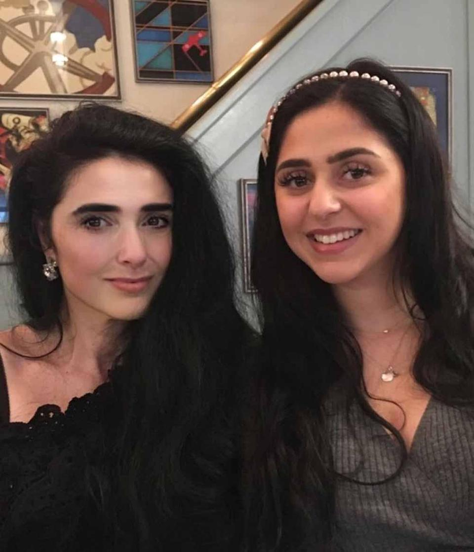 Marianna, pictured left with her daughter Graziella, says she hasn't had a birthday since her labour started at her birthday celebrations in 1998 (Collect/PA Real Life).