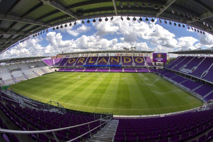 Orlando City Stadium's design is the first of its kind in the United States. (Getty)