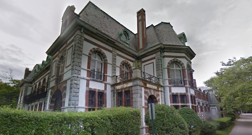 Belcourt of Newport Castle in Rhode Island. Photo: Google Maps