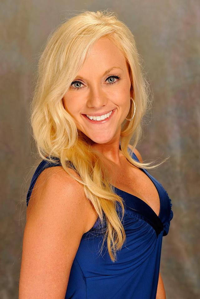 April, 30, a financial manager from Highley, Ariz. via Arlington, Neb., is one of the 13 houseguests competing in Big Brother 10.