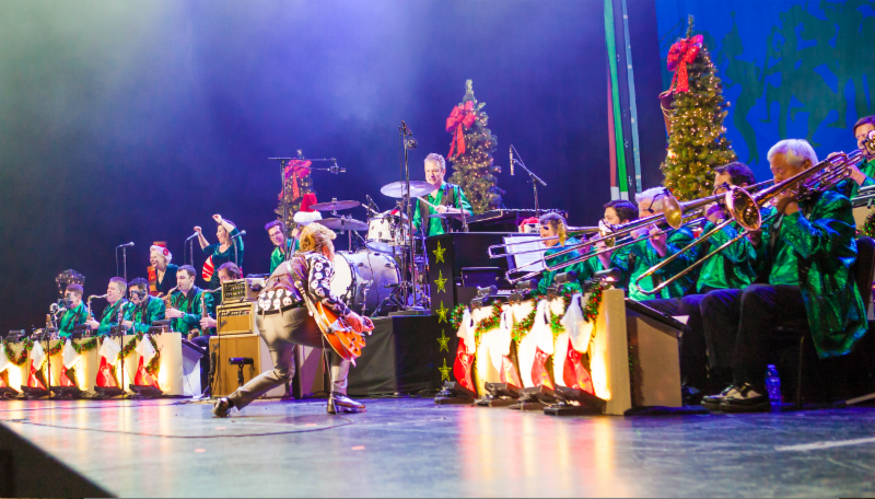 "Brian Setzer Christmas 2019 The Brian Setzer Orchestra announce 2019 ""Christmas Rocks! Tour"""