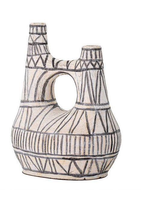 "<p><a class=""link rapid-noclick-resp"" href=""https://www.thecornrow.com/products/black-and-white-terracotta-vase"" rel=""nofollow noopener"" target=""_blank"" data-ylk=""slk:SHOP NOW"">SHOP NOW</a></p><p>If you're unfamiliar with The Cornrow, it's time to put them on your radar. Specialising in affordable, vibrant homeware that celebrate Black craftsmanship, this online platform is a go-to for unusual and beautifully made items that will give your home personality.</p><p>Terracotta vase, £158, <a href=""https://www.thecornrow.com/products/black-and-white-terracotta-vase"" rel=""nofollow noopener"" target=""_blank"" data-ylk=""slk:The Cornrow"" class=""link rapid-noclick-resp"">The Cornrow</a></p>"