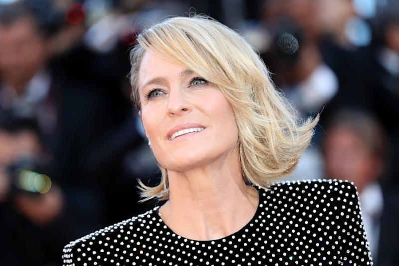 """House of Cards"" actress Robin Wright thinks people should not watch films on their phones (AFP Photo/Valery HACHE)"