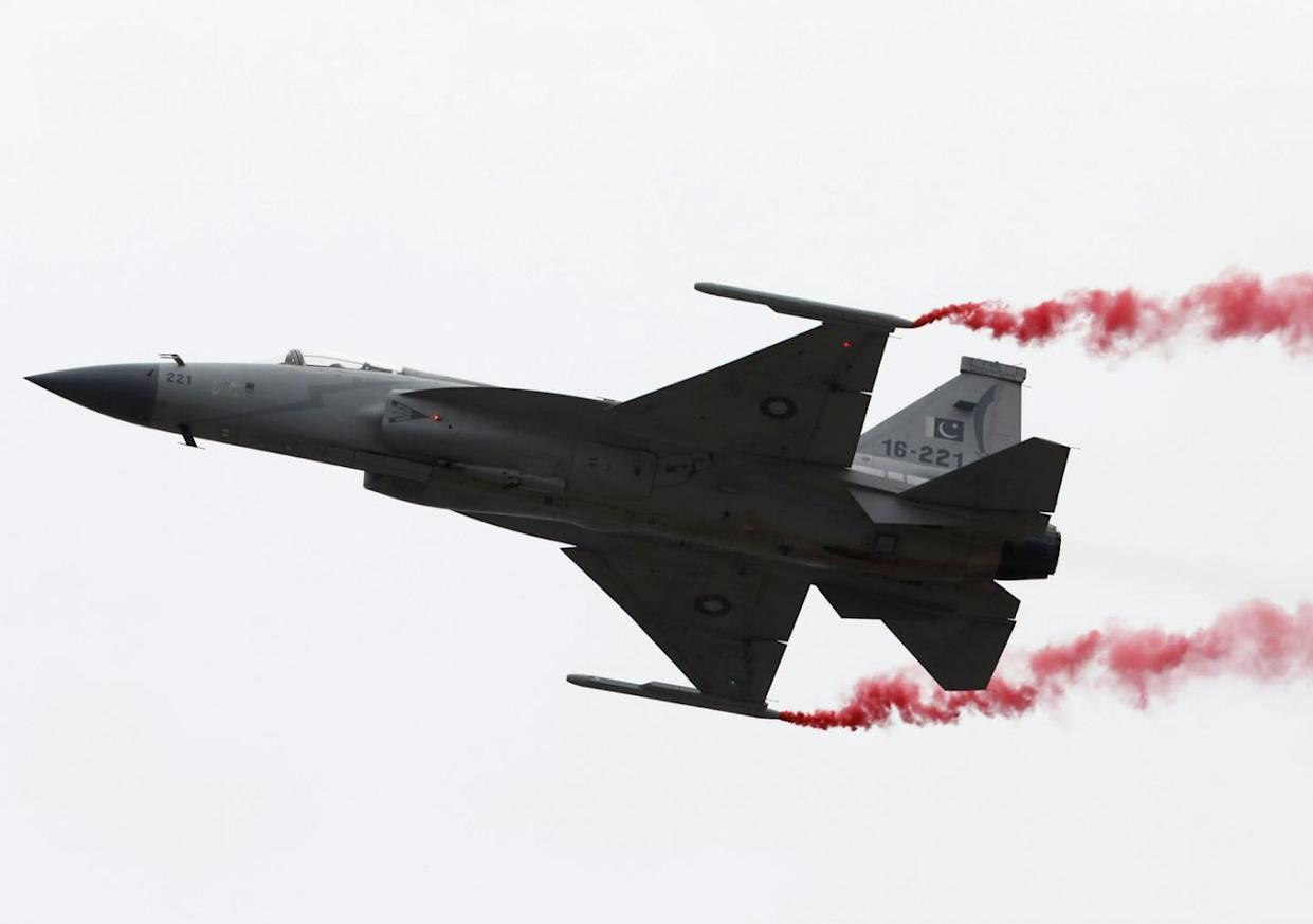 Pakistan's JF-17 Jet Has Its First Victory by Destroying an