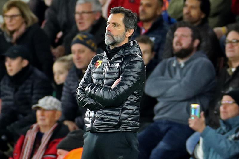 a beleaguered Watford head coach Marco Silva during the Premier League match between Southampton and Watford at St Mary's Stadium, Southampton on Saturday 30th November 2019. (Photo by Jon Bromley/MI News/NurPhoto via Getty Images)