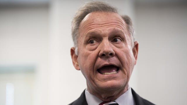 Roy Moore, the arch-conservative Republican running for a U.S. Senate seat in Alabama, doesn't believe in evolution.
