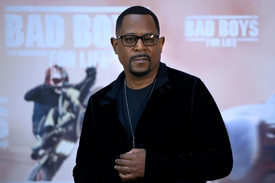 US actor Martin Lawrence poses at the 'Bad Boys For Life' launching photocall in Madrid on January 8, 2020. (Photo by Gabriel BOUYS / AFP) (Photo by GABRIEL BOUYS/AFP via Getty Images)