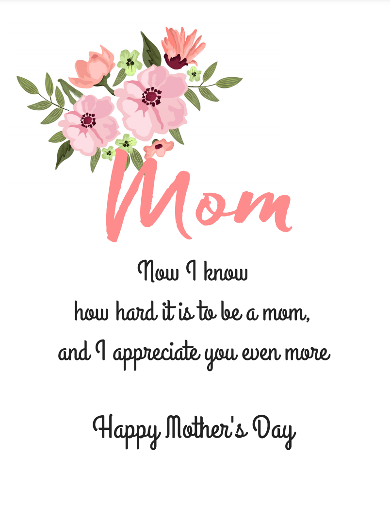 "<p>If you have children of your own, you can appreciate that much more what your mother did for you. Time to thank her for it.<em><strong><br></strong></em></p><p><em><strong>Get the printable at <a href=""https://www.tinselbox.com/free-printable-mothers-day-cards/"" rel=""nofollow noopener"" target=""_blank"" data-ylk=""slk:Tinsel Box"" class=""link rapid-noclick-resp"">Tinsel Box</a>.</strong></em></p>"