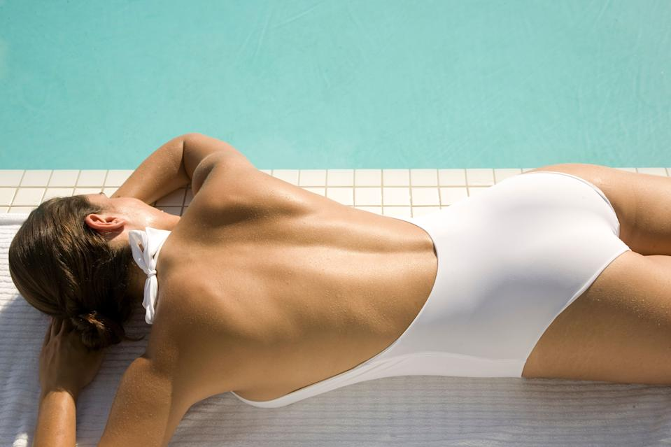 """Meet the best-selling swimsuit on Amazon shoppers say is the """"most flattering"""" in the market. (Photo: Getty Images)"""