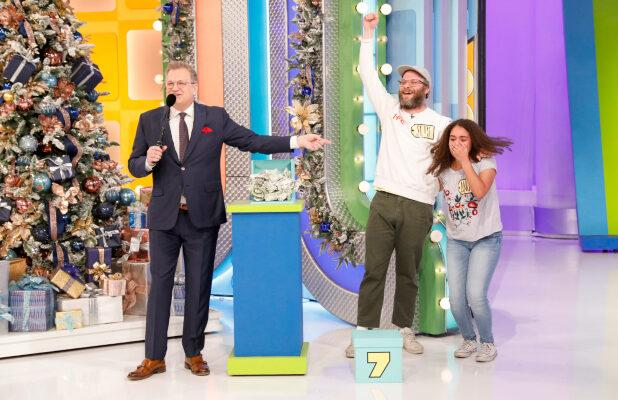 Ratings: Seth Rogen's Appearance on 'Price is Right' Leads CBS to Pre-Christmas Eve Win