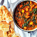 """<p><strong>Recipe: <a href=""""https://www.goodhousekeeping.com/uk/food/recipes/a568031/lamb-curry/"""" rel=""""nofollow noopener"""" target=""""_blank"""" data-ylk=""""slk:Lamb Curry with Butternut Squash and Spinach"""" class=""""link rapid-noclick-resp"""">Lamb Curry with Butternut Squash and Spinach</a></strong></p>"""