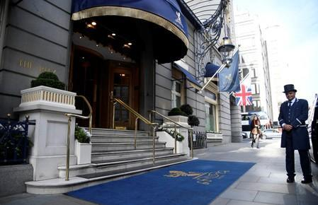 The Ritz London hotel in Piccadilly, London