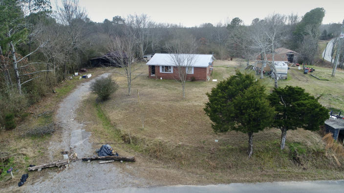 The home of Lonnie Leroy Coffman in Falkville, Ala. (Jamie Speakman / Cullman Daily)