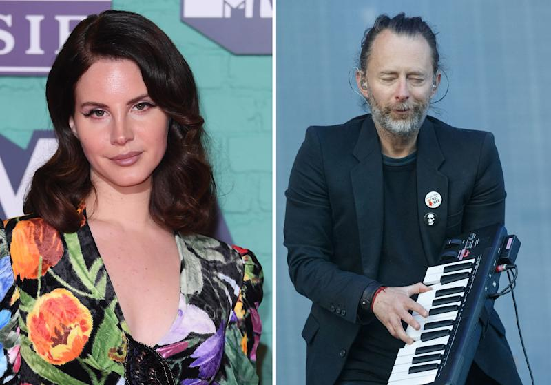 Lana Del Rey Sued By Radiohead For Copyright Infringement On