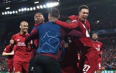 Liverpool produced an unforgettable night at Anfield - Credit: AFP