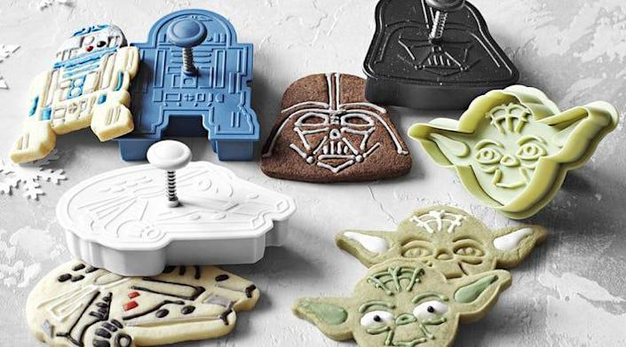 Collection of Star Wars cookie cutters