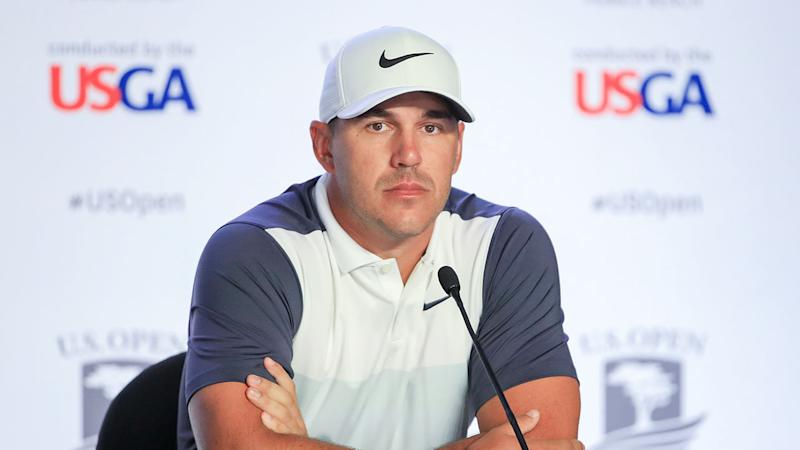 Brooks Koepka was surprised to be left off a number of US Open promotions.
