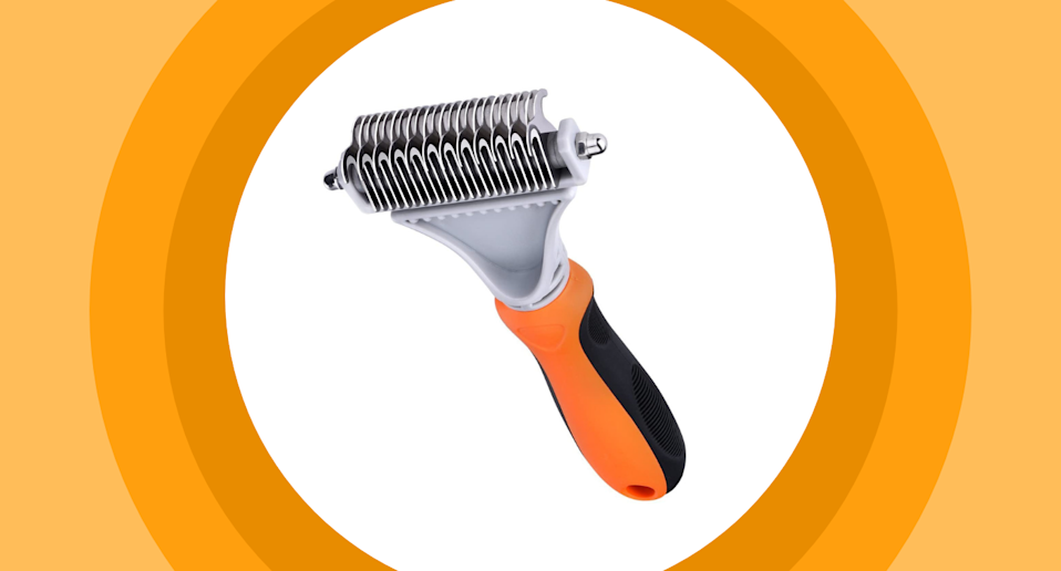 Pet owners are raving about the Topelek Pet Dematting Comb.