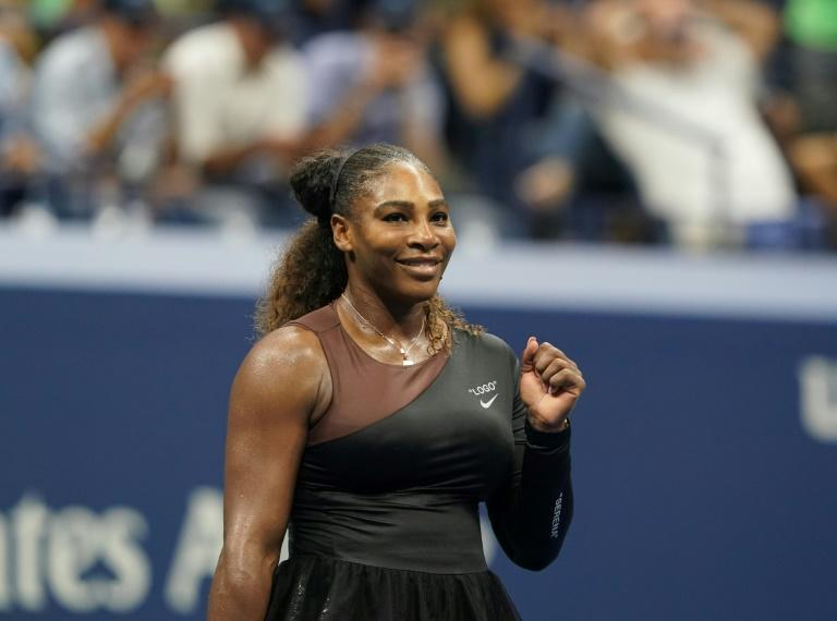 Night time: Serena Williams faces Germany's Carina Witthoeft