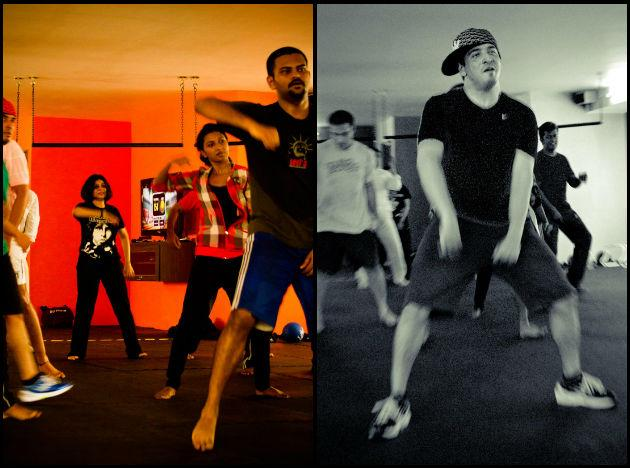 """<p class=""""MsoNormal"""">Zumba, a form of exercise that combines music and dance.</p>"""