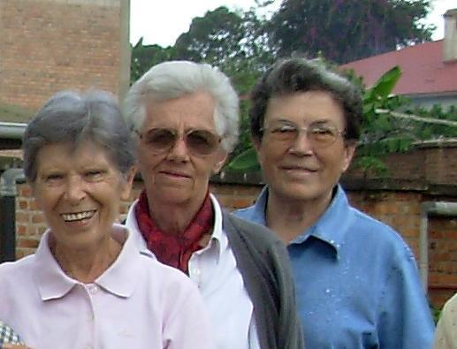 A picture released on September 8, 2014 by the Congregation of Missionaries of Mary shows the Italian nuns (from L) Bernadette Boggia, Olga Raschietti, and Lucia Pulici, who were killed in Kamenge, Bujumbura (AFP Photo/)