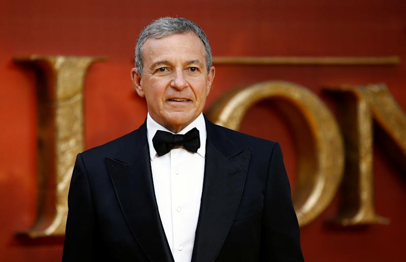 "Walt Disney CEO Bob Iger attends the European premiere of ""The Lion King"" in London, Britain July 14, 2019. REUTERS/Henry Nicholls"