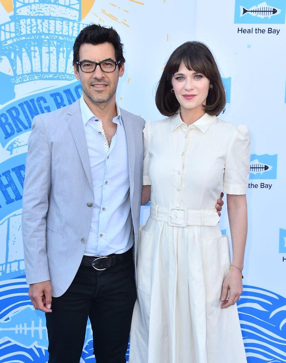 "<p><em>New Girl</em>'s Zooey Deschanel and husband Jacob Pechenik welcomed their daughter Elsie Otter in August 2016. In an interview on <em>The Ellen DeGeneres Show</em>, Zooey said they chose the name Elsie because that thought it was ""a classic name,"" <em><a href=""https://www.etonline.com/news/183696_zooey_deschanel_admits_she_named_her_baby_elsie_otter_after_the_playful_animal"" rel=""nofollow noopener"" target=""_blank"" data-ylk=""slk:ET Online"" class=""link rapid-noclick-resp"">ET Online</a></em> reported. </p><p>As for their daughter's middle name, Zooey said her husband went ""a little bit wild"" with his choice of ""Otter."" ""I love animals so much,"" the actress <a href=""https://www.etonline.com/news/183696_zooey_deschanel_admits_she_named_her_baby_elsie_otter_after_the_playful_animal"" rel=""nofollow noopener"" target=""_blank"" data-ylk=""slk:told Ellen"" class=""link rapid-noclick-resp"">told Ellen</a>. ""And we love otters because they're so cute and playful and fun. And they're really smart.""</p><p>The couple are also parents to a son, Charlie Wolf.</p>"