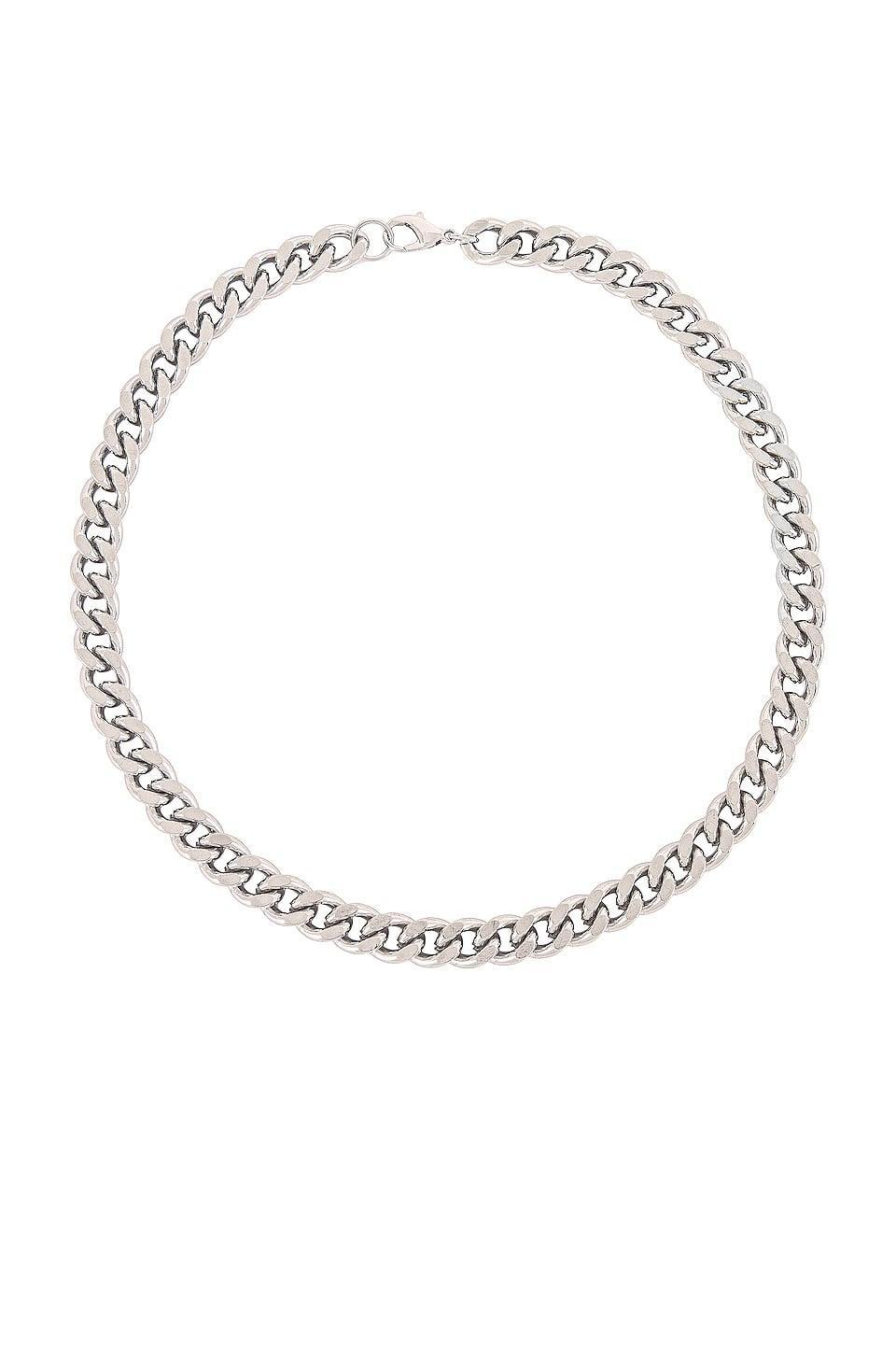 <p>If they're obsessed with silver jewelry, they'll love this <span>8 Other Reasons Sterling Chain Necklace</span> ($37).</p>