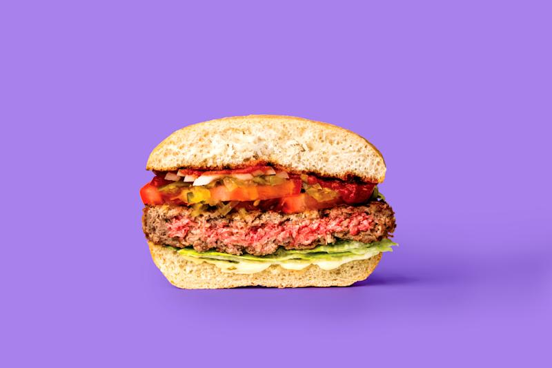 The Impossible Burger, which will soon be available at Burger King. (Photo: Impossible Foods)