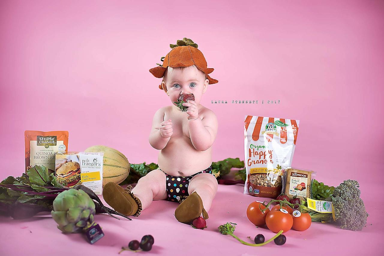 After being shamed for her baby's funny photo shoot, an Alaska mom struck back in a creative, cheeky way.