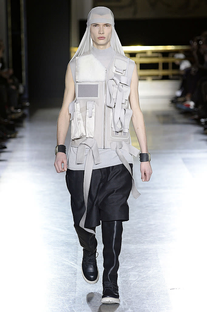 When streetwear goes too far. (Photo by Catwalking/Getty Images)