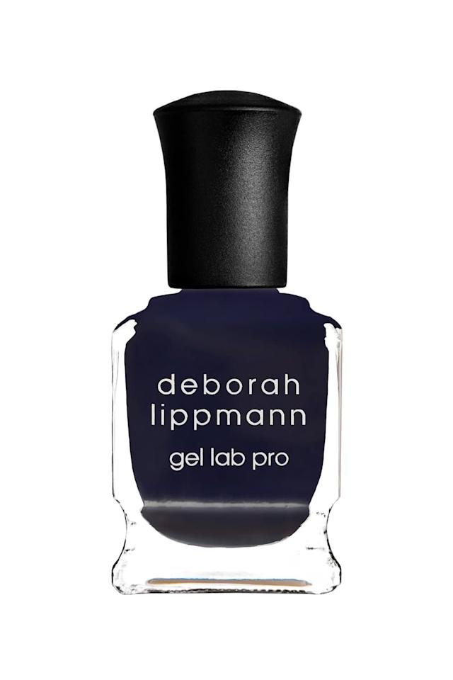"""<p><strong>Deborah Lippmann Gel Lab Pro Nail Color in Fight the Power</strong></p><p>nordstrom.com</p><p><strong>$20.00</strong></p><p><a href=""""https://go.redirectingat.com?id=74968X1596630&url=https%3A%2F%2Fshop.nordstrom.com%2Fs%2Fdeborah-lippmann-gel-lab-pro-nail-color%2F4267698&sref=http%3A%2F%2Fwww.marieclaire.com%2Fbeauty%2Fg3965%2Ffall-nail-colors%2F"""" target=""""_blank"""">SHOP IT</a></p><p>Embrace the moody-ness of the season with this midnight blue hue that'll last just as long as a gel manicure, without the damage. </p>"""