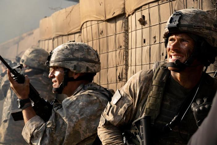 Orlando Bloom and Scott Eastwood in <em>The Outpost</em>, Rod Lurie's adaptation of Jake Tapper's 2012 book. (Photo: Screen Media)