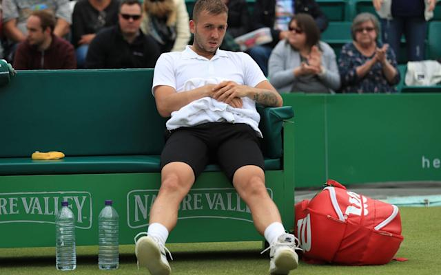"Dan Evans will have to go through pre-qualifying after Wimbledon opted not to hand the former top-50 player a wildcard either into the main draw or qualifying. The 28-year-old has been in excellent form since returning from a 12-month ban following a positive test for cocaine, winning 10 of his 13 matches on grass, making him comfortably the most successful British player on the surface so far this year. In acting on principle, Wimbledon has followed in the footsteps of the French Open, which declined to offer two-time former champion Maria Sharapova a wild card last year on her return from a 15-month doping suspension. Unlike Sharapova, Evans does still have a route available into the tournament and he will take to the courts of Aorangi Park on Thursday with the other lower-ranked British hopefuls in an attempt to earn a wild card into next week's qualifying tournament. He would need to win six matches to reach the main draw. The outcome is what Evans expected, with the Birmingham player responding on Sunday to a suggestion his good form could earn him a chance by saying: ""I've had easily the worst past of any British player. They've got their criteria. If I don't fit it, I don't fit it."" The 20 greatest tennis players of Open era Speaking about Evans' chances on Tuesday, Andy Murray, who has been a vocal critic of players who fall foul of the anti-doping system, offered qualified support to his colleague, saying: ""He's played extremely well the last few weeks. In terms of his level and stuff, he deserves it. ""Whether or not it's the right message to be sending, I don't know, but then some would say he's obviously served his time and should be given a second chance."" While Evans was overlooked, eight British players have been awarded wild cards into the main draw with a further 10 given places in qualifying. Nineteen-year-old Jay Clarke will make his debut at the championships, which begin on July 2, and is joined in the men's draw by Liam Broady and Australian teenager Alex de Minaur, who beat Evans to win the title in Nottingham last week. Evans has impressed following the return from his ban Credit: Getty Images It has been a good year for the up-and-coming British women and six players have been given main draw wild cards. Gabi Taylor, Harriet Dart and Katy Dunne will all make their debuts and are joined by Naomi Broady, Katie Boulter and Katie Swan. Among those given chances in qualifying are Davis Cup stalwart James Ward and seven teenagers, including 15-year-olds Holly Fischer and Emma Raducanu and 16-year-old Jack Draper, the son of former Lawn Tennis Association chief executive Roger Draper. There is no place, though, for former junior champion Laura Robson, now down at 330 in the rankings. Among the recipients of wild cards into the doubles, meanwhile, are Australian pair Alex Bolt and Lleyton Hewitt, the 2001 singles champion who has again come out of retirement this summer."