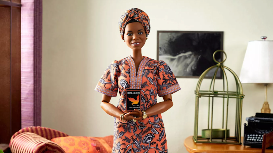 Valentine's gifts for kids: Maya Angelou Barbie