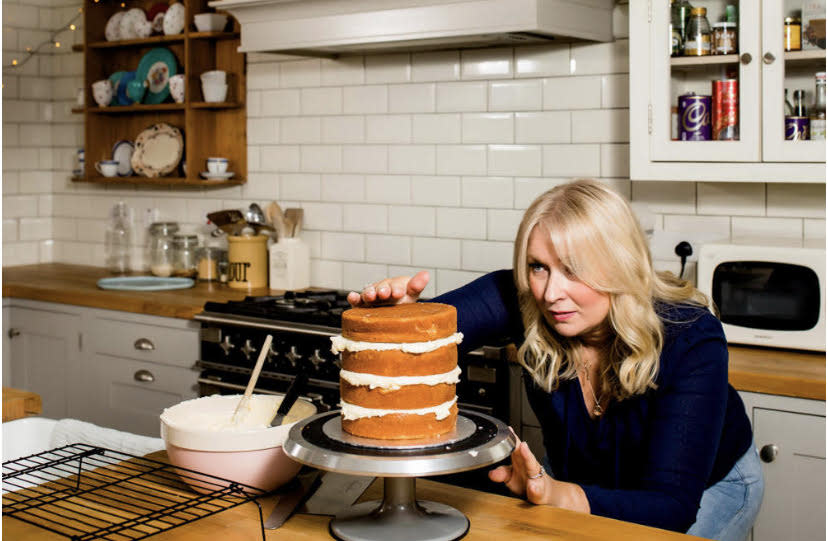 Lynsey stacks up an excellent argument for baking. (Bumble & Goose)