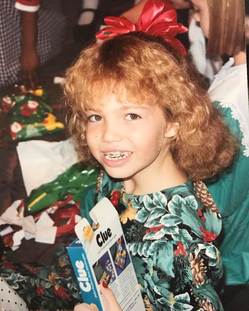 "<p>Mandy was strong-armed into the permed-hair craze of the '90s by her mom, but she confessed that the glimmers of red and green in her braces were all her. ""I took full advantage of the colored rubber bands for the holidays,"" she mused. (Photo: Mandy Moore via <a href=""https://www.instagram.com/p/BRvwQHql6Nc/?taken-by=mandymooremm&hl=en"" rel=""nofollow noopener"" target=""_blank"" data-ylk=""slk:Instagram"" class=""link rapid-noclick-resp"">Instagram</a>) </p>"