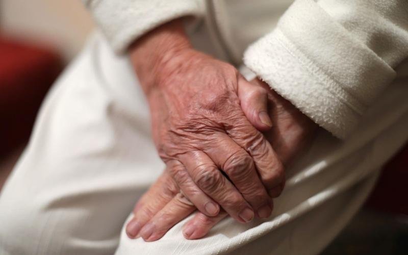 File photo dated 22/12/16 of an elderly woman's hands. Hundreds of thousands of elderly people could be lifted out of poverty with full uptake of pension credit, according to a charity. Independent Age has produced a report saying only 61% of those eligible are receiving the benefit. PA Photo. Issue date: Monday September 14, 2020. The charity estimates about 450,000 pensioners could move out of poverty if uptake was increased to 100%, reducing pensioner poverty to its lowest ever level. See PA story POLITICS Pensioners. Photo credit should read: Yui Mok/PA Wire - PA/PA
