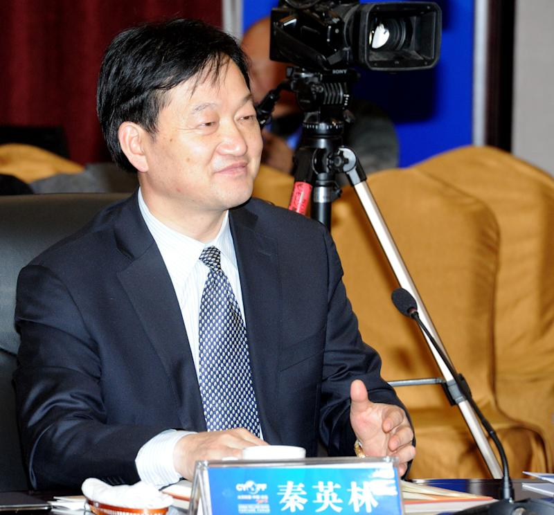 Qin Yinglin, chairman of Muyuan Foodstuff seen on November 22, 2012 in Zhengzhou, Henan Province of China. Photo: Visual China Group via Getty Images/Visual China Group via Getty Images