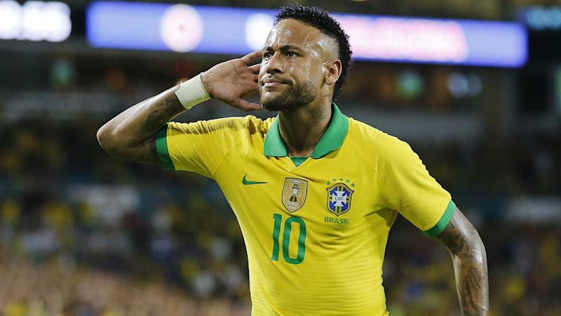 Neymar is happy in Brazil squad – Tite
