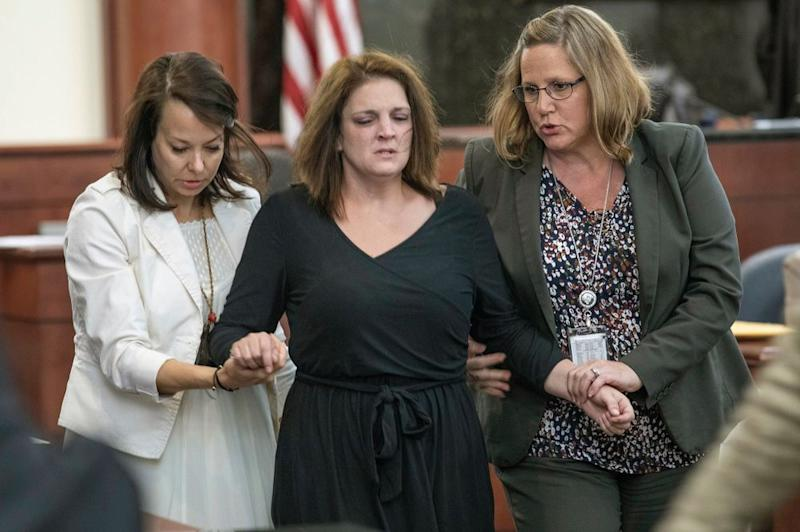 Amber Kyzer, the mother of the five children | Tracy Glantz/AP/Shutterstock