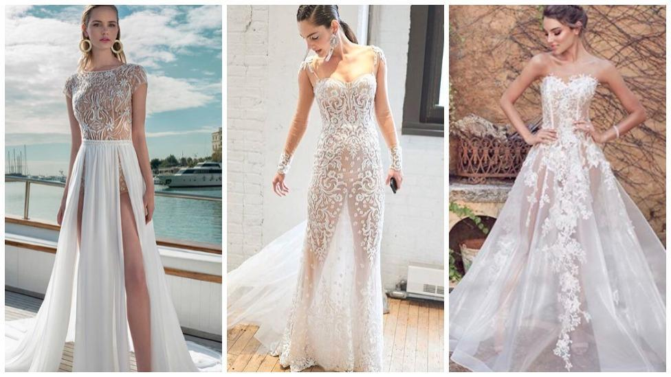 Naked Wedding Dresses Are The Bridal Trend Of 2019