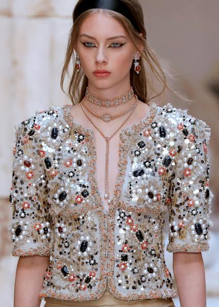 Cruise collection da Chanel, apresentada no Grand Palais, em Paris