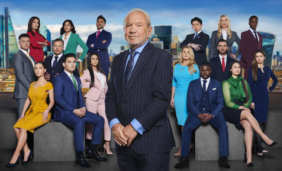Lord Sugar will be putting the new candidates through their paces during the new series (Photo: BBC)
