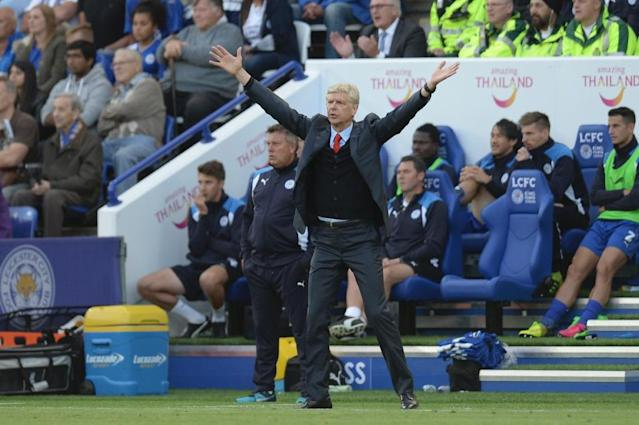 Arsenal's manager Arsene Wenger reacts on the touchline on August 20, 2016 (AFP Photo/Oli Scarff)