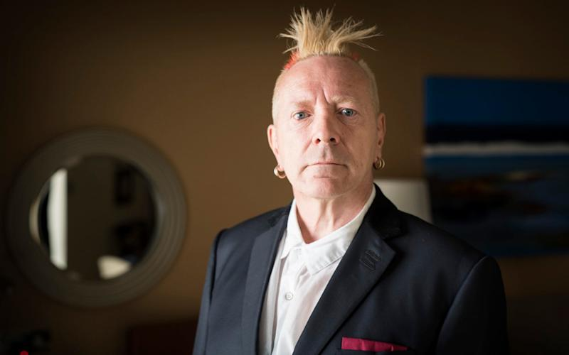 Sex Pistols star John Lydon - Geoff Pugh Photography Ltd